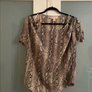 Michael Kors Off the shoulders blouse
